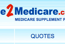 link button to portfolio welcom2medicare.com